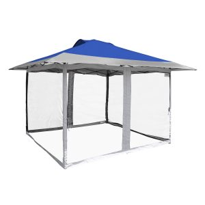 "12'7"" x 12'7"" Haven Sport Gazebo Kit with Screen Mesh Full Enclosure Set"